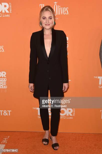 Michalka attends The Trevor Project's 2018 TrevorLIVE Gala at The Beverly Hilton Hotel on December 02 2018 in Beverly Hills California