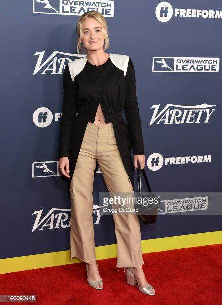 Michalka attends Variety's Power Of Young Hollywood at The H Club Los Angeles on August 6 2019 in Los Angeles California