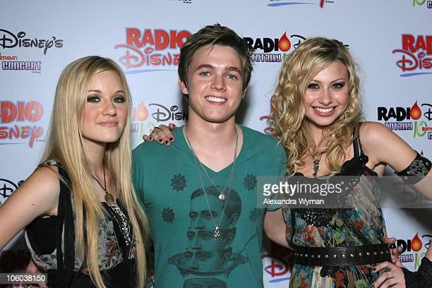 AJ Michalka Jesse McCartney and Aly Michalka during Radio Disney Announces Live Webcast of SoldOut Concert Event The Radio Disney Totally 10 Birthday...
