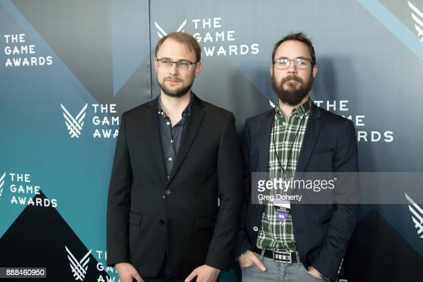 Micheal Levall and Ola Backstrom attend The Game Awards 2017 at Microsoft Theater on December 7 2017 in Los Angeles California