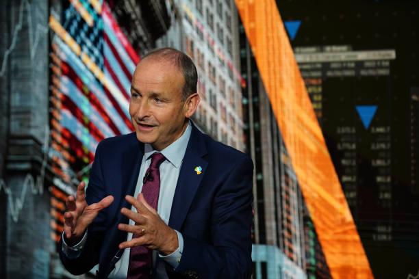 NY: Irish Prime Minister Michael Martin Interview