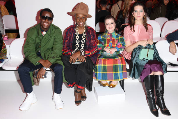 ITA: Gucci - Front Row - Milan Fashion Week Spring/Summer 2020