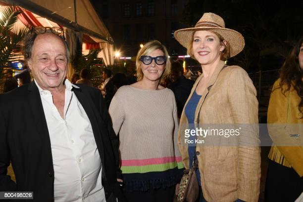 Michel Ansault Chantal Ladesou and Agnes Soral attend La Fete des Tuileries on June 23 2017 in Paris France