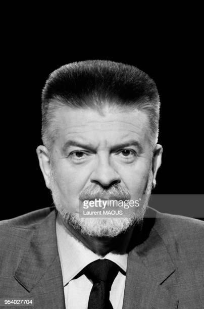 Michel Baroin PDG de la FNAC le 16 novembre 1986 à Paris France