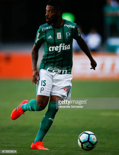 Michel Bastos of Palmeiras in action during the match between Palmeiras and  Flamengo for the Brasileirao c6028971afeb5