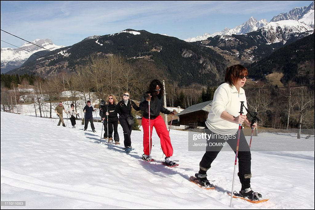 """23th """"Mont Blanc d'Humour"""" Festival in St-Gervais les Bains, France on March 17th, 2007 : News Photo"""