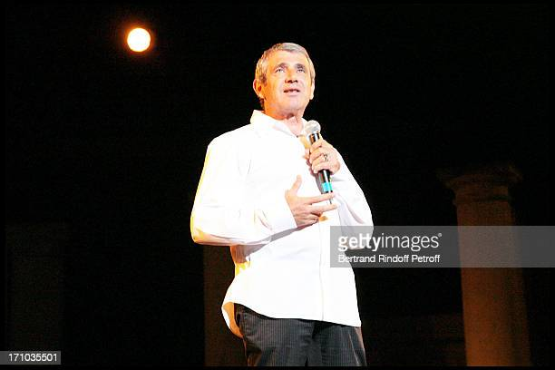 Michel Boujenah pays tribute to Jean Claude Brialy 23rd Ramatuelle fesitival in 2007 Every night the artists pay tribute to Jean Claude Brialy