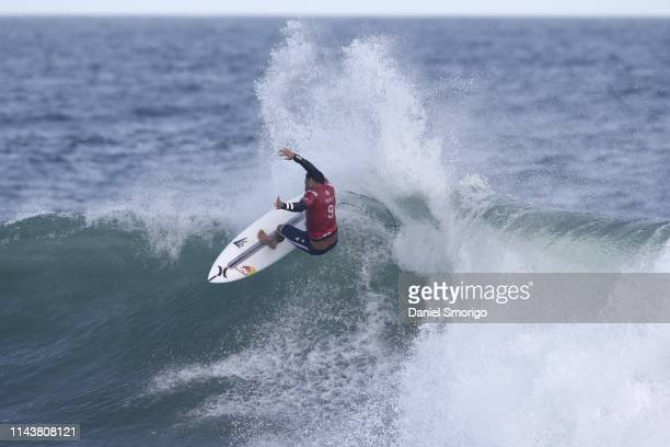 Michel Bourez from Tahiti finished his campaign in 25th after losing to Keanu Asing in Heat 5 of Round 2 at the Oi Rio Pro in Saquarema, Rio de...