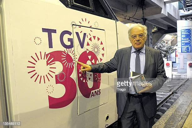Michel Chevalet attends the TGV 30th Anniversary ceremony at Gare Montparnasse on April 7 2011 in Paris France