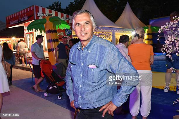 Michel Coencas attends La Fete des Tuileries on June 24, 2016 in Paris, France.