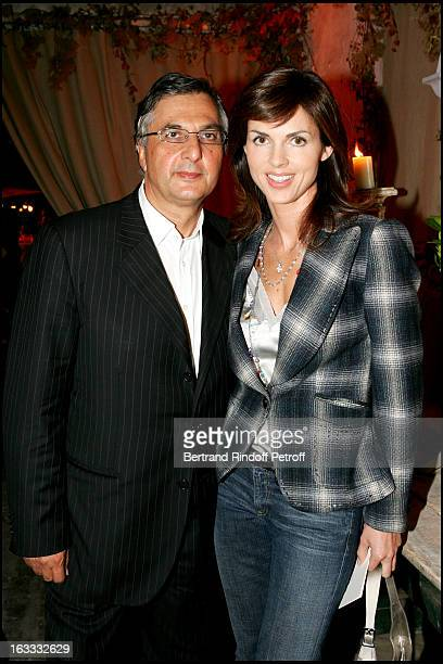 Michel Coincas and Caroline Barclay at Lolita Lempicka Launches Her Perfume L at Musee De Montmartre In Paris