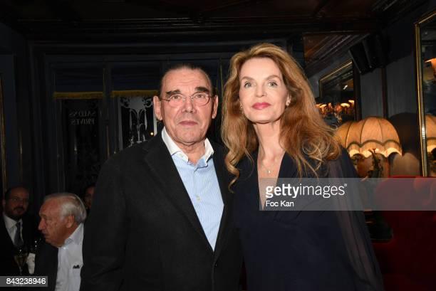 Michel Corbiere And Cyrielle Claire Attend The Art De La Matiere AD Interieurs 2017 After Cocktail