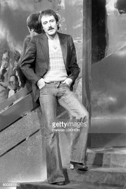 Michel Delpech chante à la télévision en 1976 à Paris France