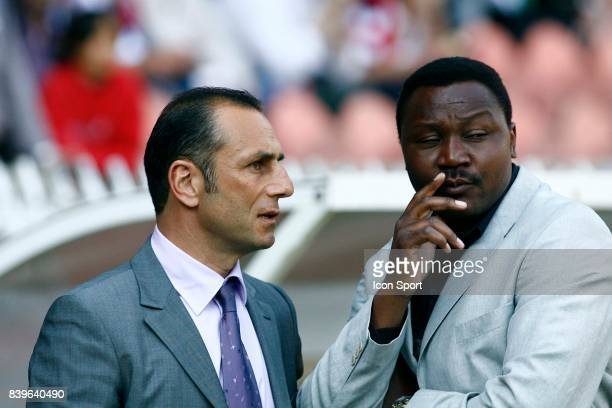 Michel DER ZAKARIAN et Japhet NDORAM PSG / Nantes 33eme journee de Ligue 1
