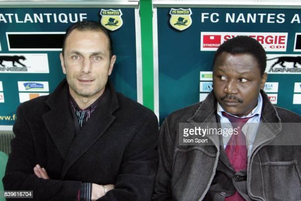 Michel DER ZAKARIAN / Japhet N'DORAM Nantes / Auxerre 26eme Journee de Ligue 1