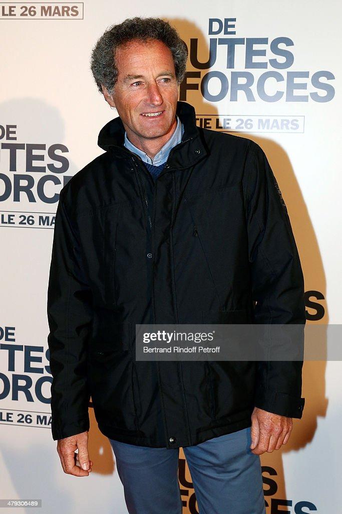 'De Toutes Nos Forces' : Paris Premiere At Gaumont Opera Capucines