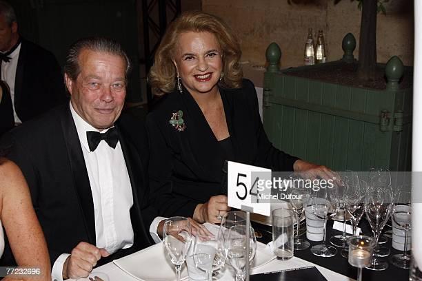Michel d'Orleans comte d'Evreux and socialite Ira von Furstenberg attend the Fondation Pour L'Enfance Ball at the Palais de Versailles October 8 2007...