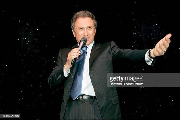 Michel Drucker at Dalida TV Film Tribute To The Singer