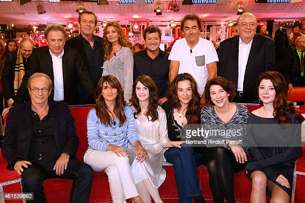 Michel Drucker JeanLuc Reichmann Ingrid Chauvin Francis Ginibre Eric Carriere Bernard Mabille Main Guest of the show Patrick Chesnais Geraldine...