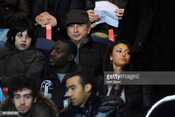 Michel DRUCKER / Ladji DOUCOURE / Rachel LEGRAIN TRAPANI PSG / Marseille 27eme journee de Ligue 1 Parc des Princes