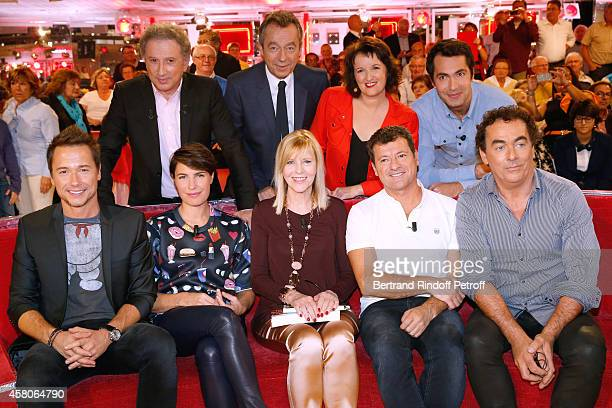 Michel Drucker Michel Denisot Anne Roumanoff Ben Stephane Rousseau Alessandra Sublet Main guest of the show actress Chantal Ladesou Francis Ginibre...