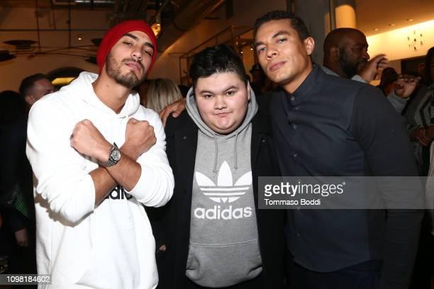 Michel Duval Jovan Armand and Ismael Cruz Cordova attend the Sony Pictures Entertainment NALIP Presents LatinX Representation In Entertainment Panel...