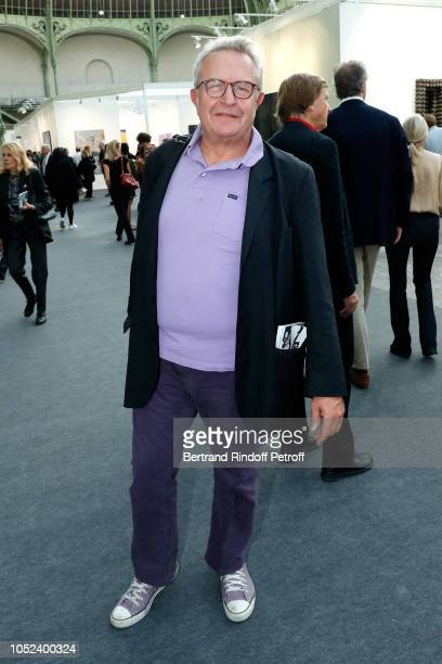 Michel Field attends the FIAC 2018 International Contemporary Art Fair Press Preview at Grand Palais on October 17 2018 in Paris France