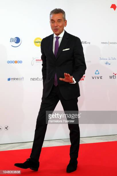 Michel Friedman, attends the opening ceremony of the 2018 Frankfurt Book Fair on October 9, 2018 in Frankfurt am Main, Germany. The 2018 fair, which...