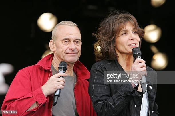 Michel Fugain and Stephanie Fugain