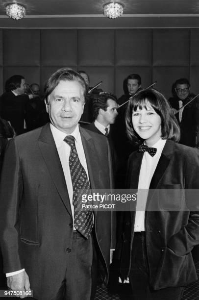 Michel Galabru et Sophie Marceau à la premiere du film La Boum