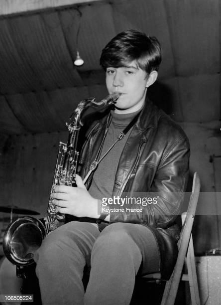 Michel Gaucher, Trombone And Saxophone Player Of Les Chaussettes Noires 1961