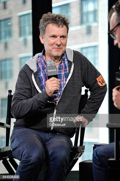 """Michel Gondry attends the AOL Build Speaker Series to discuss his new film """"Microbe and Gasoline"""" at AOL Studios In New York on June 30, 2016 in New..."""