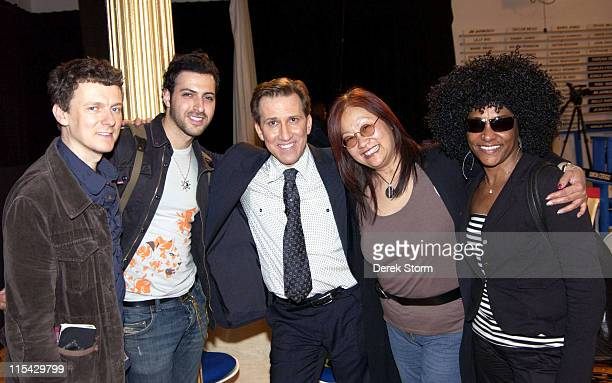 Michel Gondry Ryan Star Mark Kostabi May Pang and Lala Brooks