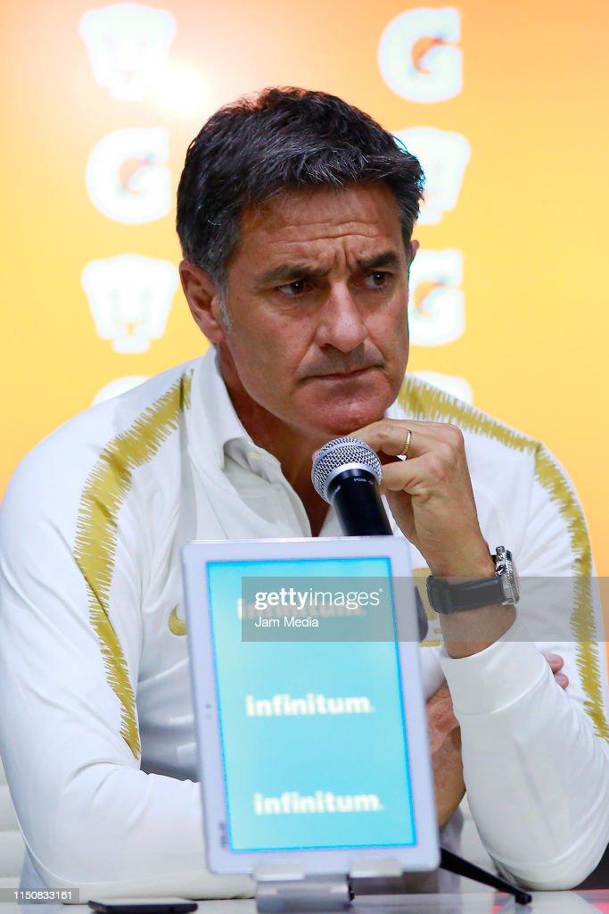 MEX: Pumas UNAM Unveils New Coach Jose Miguel Gonzalez