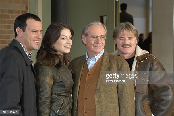 """Michel Guillaume, Bianca Hein, Wilfried Klaus, Hartmut Schreier, , ZDF-Serie """"Soko 5113"""", München, Deutschland, , P.-Nr.:708/2006, Leder-Jacke,..."""
