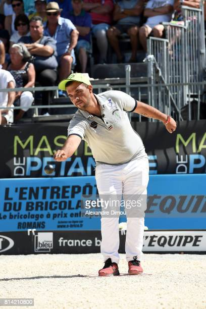 Michel Hatchadourian competes during the Masters of Petanque 2017 on July 13 2017 in RomanssurIsere France