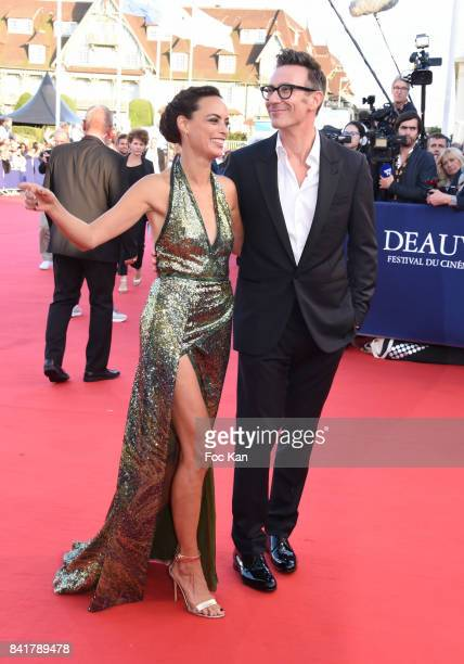 Michel Hazanavicius and Berenice Bejo attend the opening ceremony of the 43rd Deauville American Film Festival on September 1 2017 in Deauville France