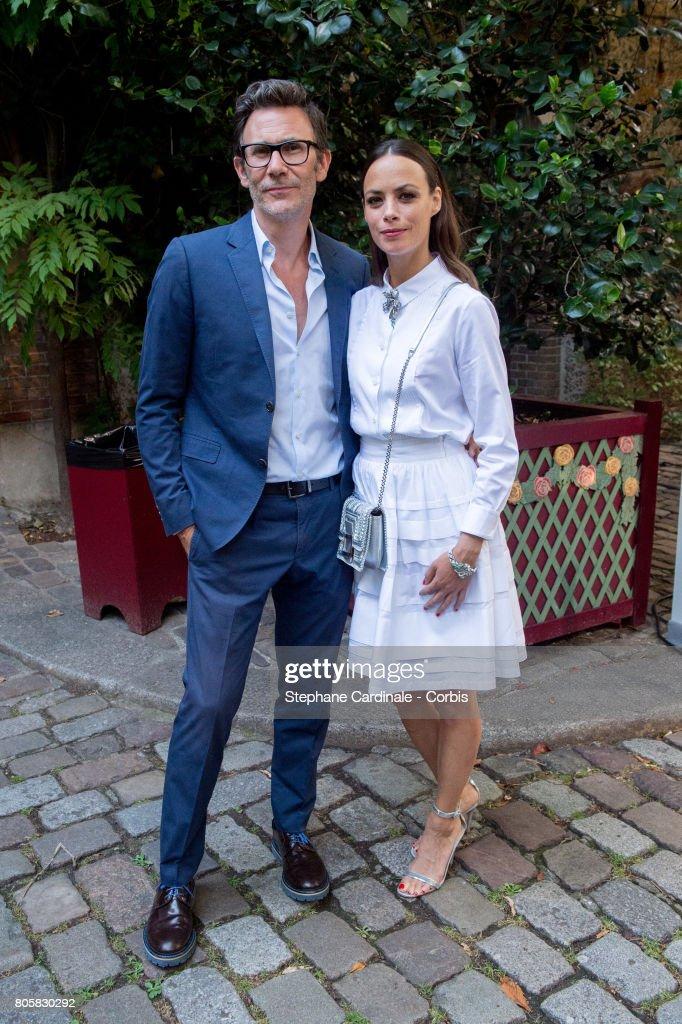 Michel Hazanavicius and Berenice Bejo attends the 'Chaumet Est Une Fete' : Haute Joaillerie Collection Launch as part of Haute Couture Paris Fashion Week on July 2, 2017 in Paris, France.