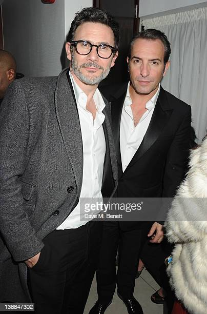 Michel Hazanavicius and Jean Dujardin attends the Weinstein Company and Entertainment Film Distributors PostBAFTA Party hosted with Chopard and Grey...