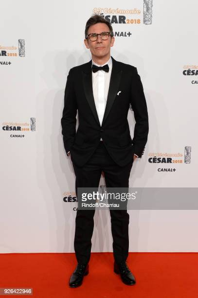 Michel Hazanavicius arrives at the Cesar Film Awards 2018 at Salle Pleyel on March 2 2018 in Paris France