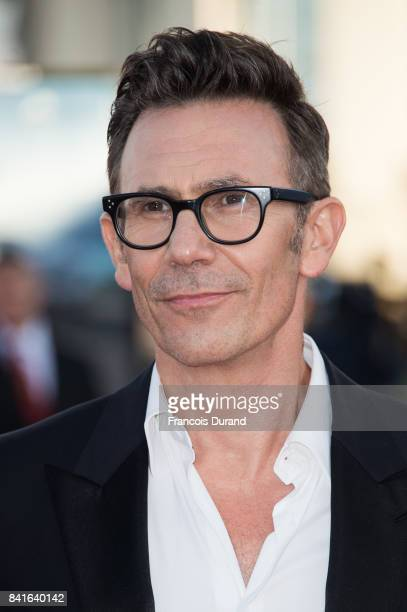 Michel Hazanavicius arrives at the opening ceremony of the 43rd Deauville American Film Festival on September 1 2017 in Deauville France