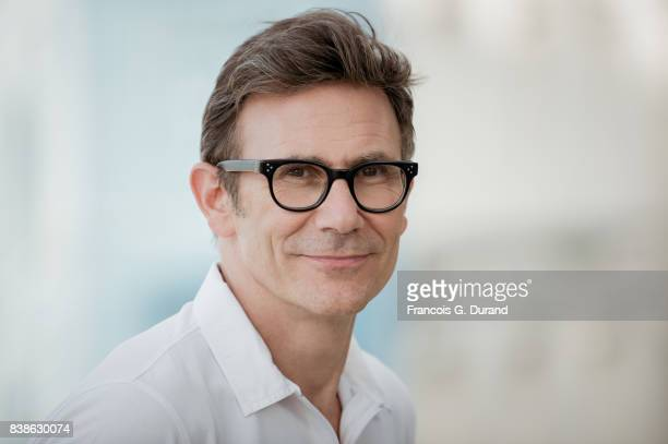 Michel Hazanavicius attends the 10th Angouleme FrenchSpeaking Film Festival on August 24 2017 in Angouleme France