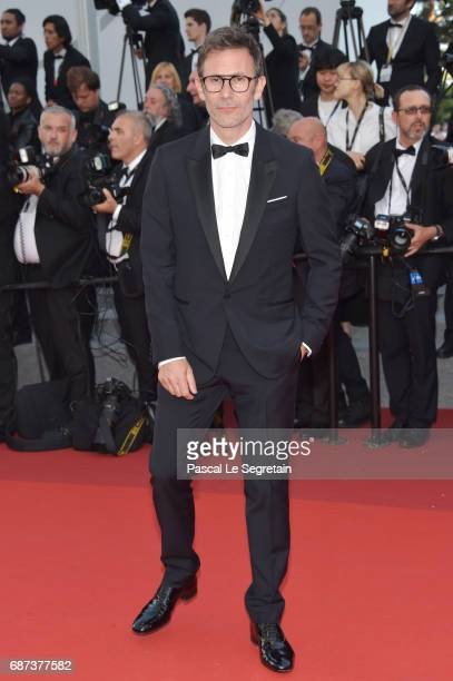 Michel Hazanavicius attends the 70th Anniversary of the 70th annual Cannes Film Festival at Palais des Festivals on May 23 2017 in Cannes France