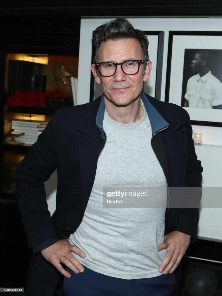 Michel Hazanavicius attends the afterparty for the New York Premiere of 'Godard Mon Amour' at Omar's on April 19, 2018 in New York City.