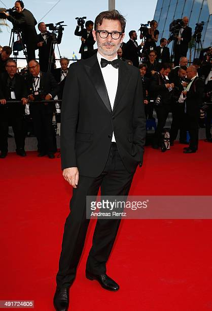 Michel Hazanavicius attends the 'Saint Laurent' premiere during the 67th Annual Cannes Film Festival on May 17 2014 in Cannes France