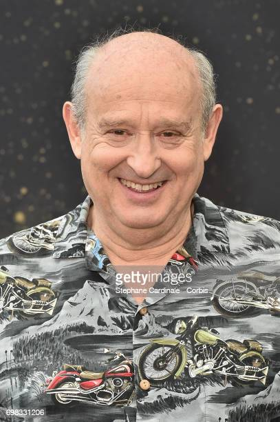 Michel Jonasz from 'Lebowitz Contre Lebowitz' TV Show poses for a Photocall during the 57th Monte Carlo TV Festival Day Five on June 20 2017 in...