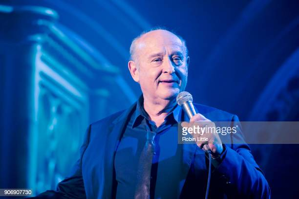 Michel Jonasz performs on stage at the Union Chapel on January 18 2018 in London England