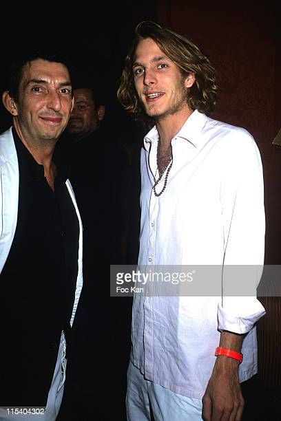 Michel Klein and Andrea Casiraghi during Paris Haute Couture Fashion Week Fall/Winter 2005 Michel Klein After Party at Castel Club in Paris France