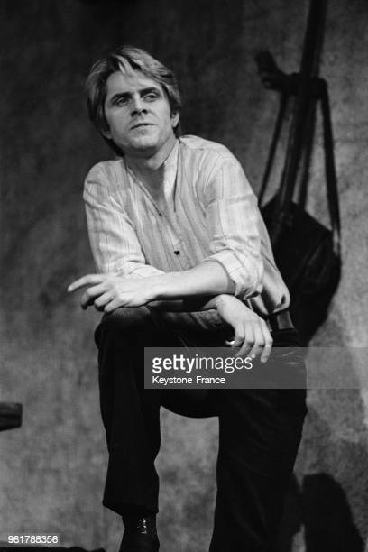 Michel Le Royer lors des répétitions de la pièce de théâtre 'Le cocu magnifique' de Fernand Crommelynck et mise en scène par Marc Renaudin au théâtre...