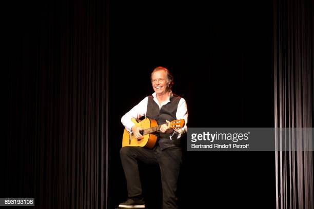 Michel Leeb performs during 'Michel Leeb 40 ans' Theater Show at Casino de Paris on December 14 2017 in Paris France
